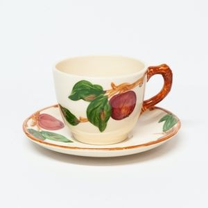 Franciscan Apple Teacup/Saucer Set (7 AVAILABLE)